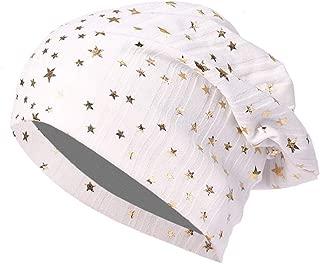 Men Women Star Printed Chemo Cap Warm Crochet Winter Knit Ski Beanie Skull Slouchy Caps Hat