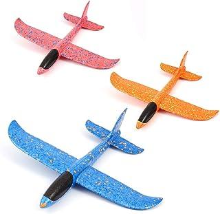 welltop samolot ze styropianu, 3-częściowy upominek, samolot samolot ze styropianu, upominek, prezent dla gości, urodziny ...