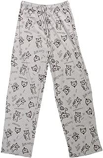 Big Bang Theory Soft Kitty Pattern Adult Loungepants