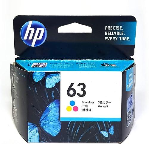 Ink Cartridge HP 63 Tri-Colour Ink Cartridge, (F6U61AA)