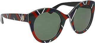 غوتشي نظارة شمسية عين القطة للنساء - اخضر، GG0028S-010-52
