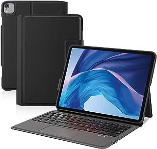Ewin iPad Air4 10.9インチ/iPad Pro 11インチ 第1世代/第2世代 キーボードケース タッチパッド付き 一体式Bluetoothキーボード オートスリープ搭載 軽量 iPad Air 第4世代 2020 保護カバー ...