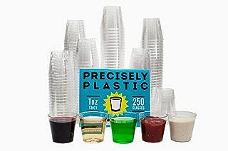 Best printed plastic shot glasses Reviews