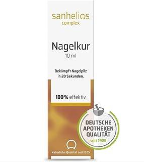 Sanhelios Nagelkur gegen Nagelpilz 10ml - tötet Nagelpilz in 20 Sekunden - einfach und hygienisch - schützt andere Nägel vor Ansteckung - patentierter Wirkstoff mit belegter Wirkung