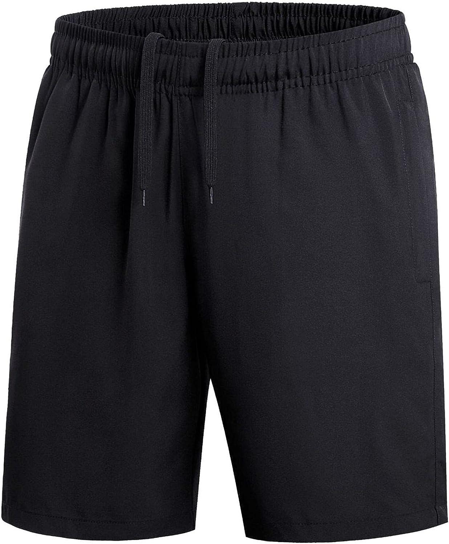 Men's Quick Dry Shorts Summer Loose Comfortable Drawstring Elasticated Waist