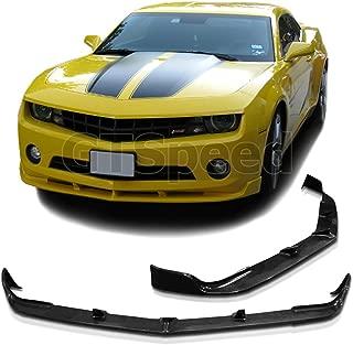 NEW - 2010-2013 CHEVY CAMARO V6 STL Style PU Front Bumper Lip Chin Spoiler