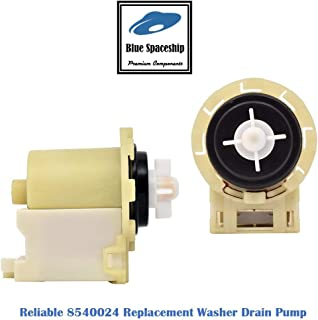 Reliable 8540024 Washer Drain Pump. Replacement Part Fits for Whirlpool Kenmore Maytag washers and Replaces 8540024, W10130913, W10117829