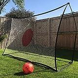 QUICKPLAY Spot Target Football Rebounders - 7x7'| Multi-Sport Ball Skills Training -