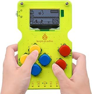 KEYESTUDIO Programming Board Game Development Board GAMEPI ATMEGA32U4 Chip for Arduino IDE DIY Classic Mini Portable 1.3 i...