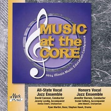 2014 Illinois Music Educators Association (ILMEA): All-State Vocal Jazz Ensemble & Honors Vocal Jazz Ensemble