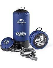 NatureHike携帯 に 便利 ソーラーキャンプシャワー 11L キャンプシャワーウォーターバッグ アウトドア/災害/洗車用(ブルー)