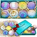 Bath Bombs Gift Set - 9 Luxury 4oz Bubble Fizzies For Women