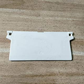 Vertical ind Spares 10pcs White Chain Link sy Installation Curtain Accessories Weights Window Repair Clips Home Bottom Replacement Connector Parts Slat Hanger(A)