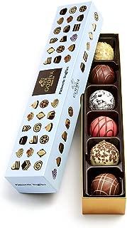 Godiva Chocolatier Patisserie Chocolate Truffle Flight Box, Assorted Dessert Chocolates, Chocolate Treats, Chocolate Truffles, Great for any gift, Chocolate Desserts, 6 pc