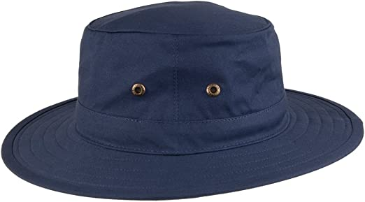 Stone Failsworth Hats Traveller Crushable Sun Hat