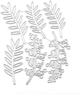 DENGHENG Fustelle in metallo a forma di ramo di fata album di ritagli biglietti stencil fai da te decorazioni in rilievo timbro