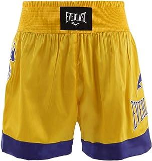 Shorts Everlast Muay Thai Assinatur - Dourado-Preto