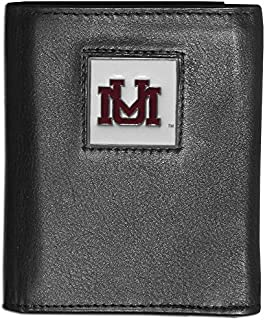 Siskiyou NCAA Montana Grizzlies Deluxe Leather Tri-fold Wallet