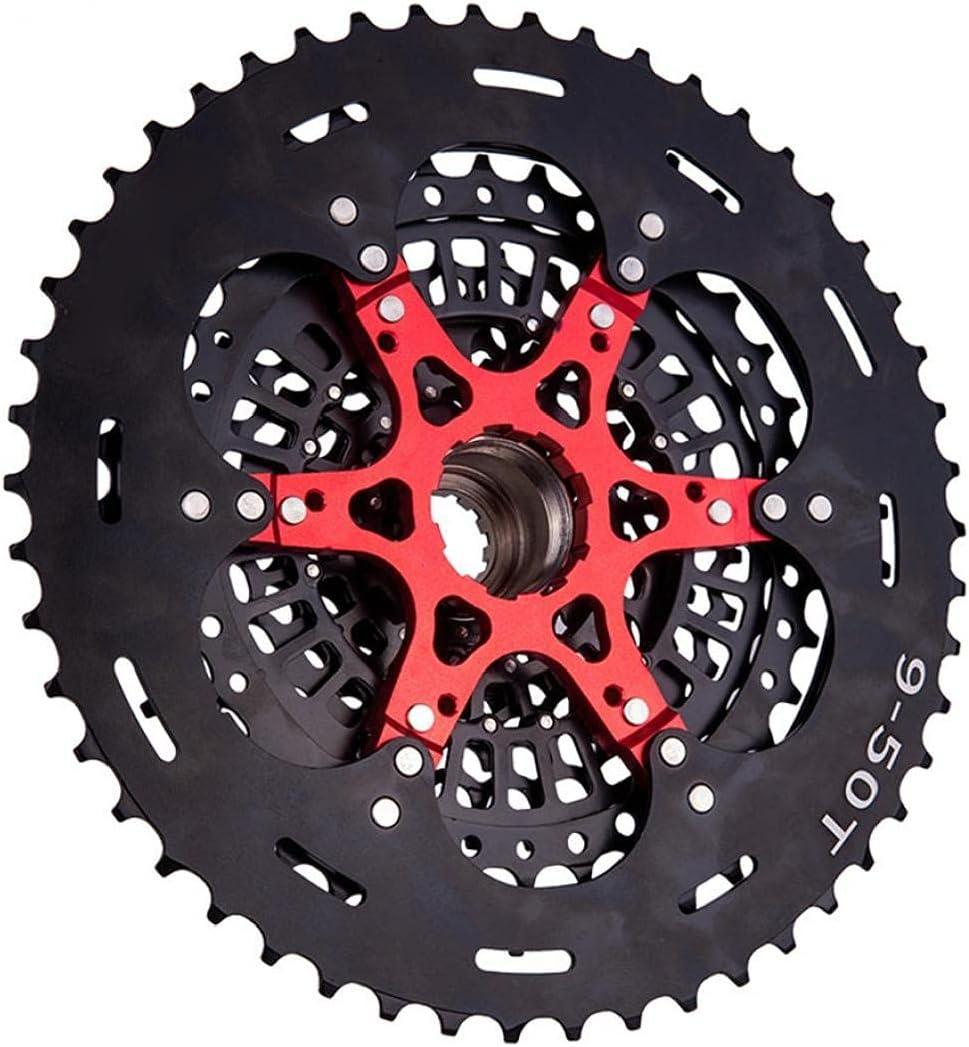 Hainice 12 velocidades 9-50T Cassette de Ciclismo Cassette Freewheel Sprocket Dientes compatibles con XD Black