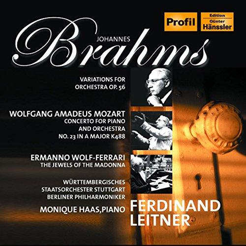 Brahms; Mozart; Wolf-Ferrari - Orchestral Works
