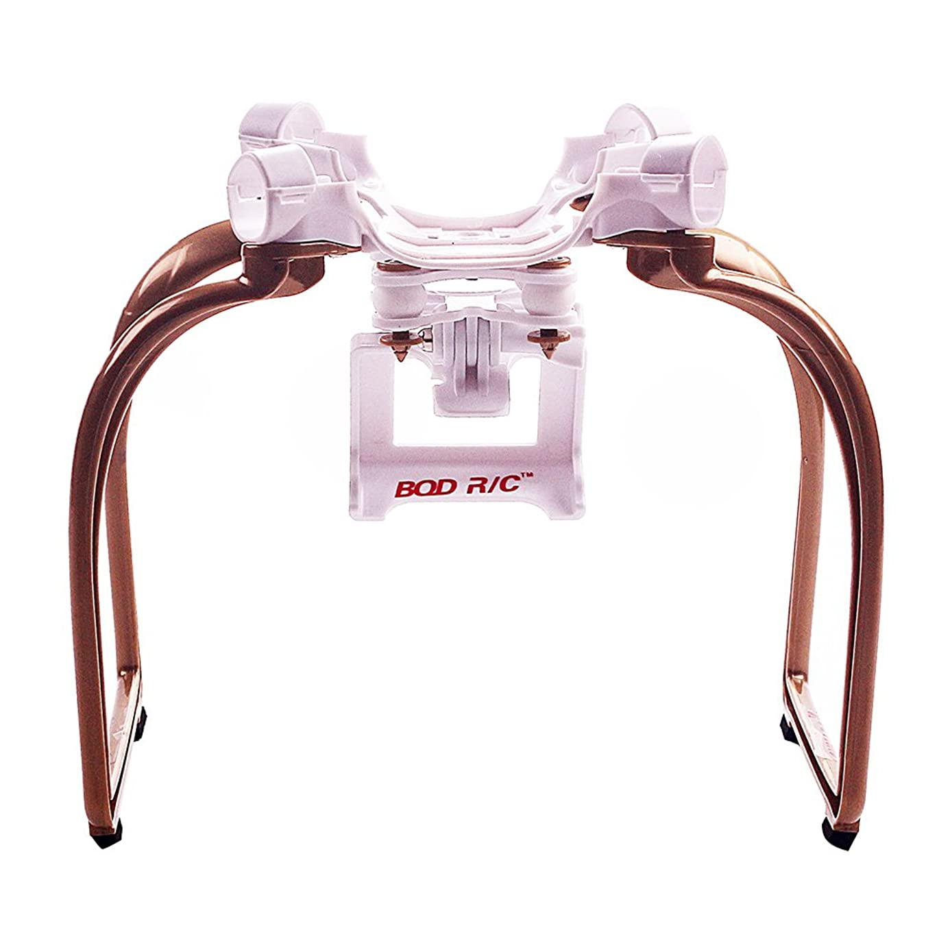 BTG Compatible with H501S Quadcopter-Upgrade Extended Landing Gear and Camera Holder with Gimbal Kit (Color: Golden)