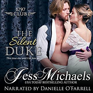 The Silent Duke audiobook cover art