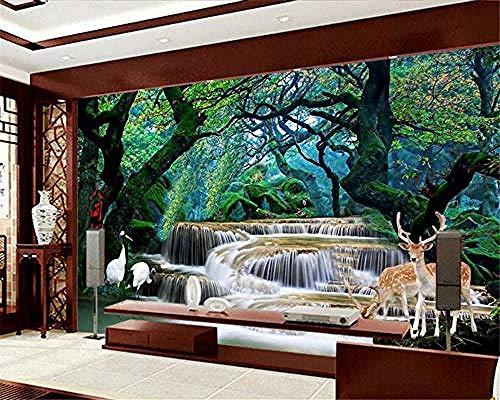 Fondo de pantalla 3D HD Dream Falls Forest Falls Human Wonde