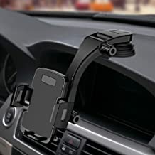 "Miracase Cell Phone Holder for Car,Upgrade Dashboard & Windshield 360° Rotation One Button Car Phone Mount Holder Compatible iPhone Xs MAX/XS/XR/X/8plus/7/8/6,Galaxy S10/S9/S8,Google,Huawei(4""-6.5"")"