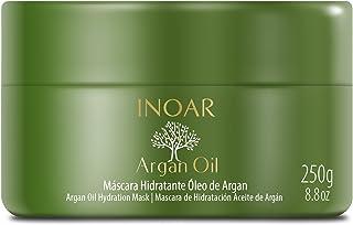 Máscara Capilar Argan Oil Tratamento Intensivo Hidratante 250g, Inoar