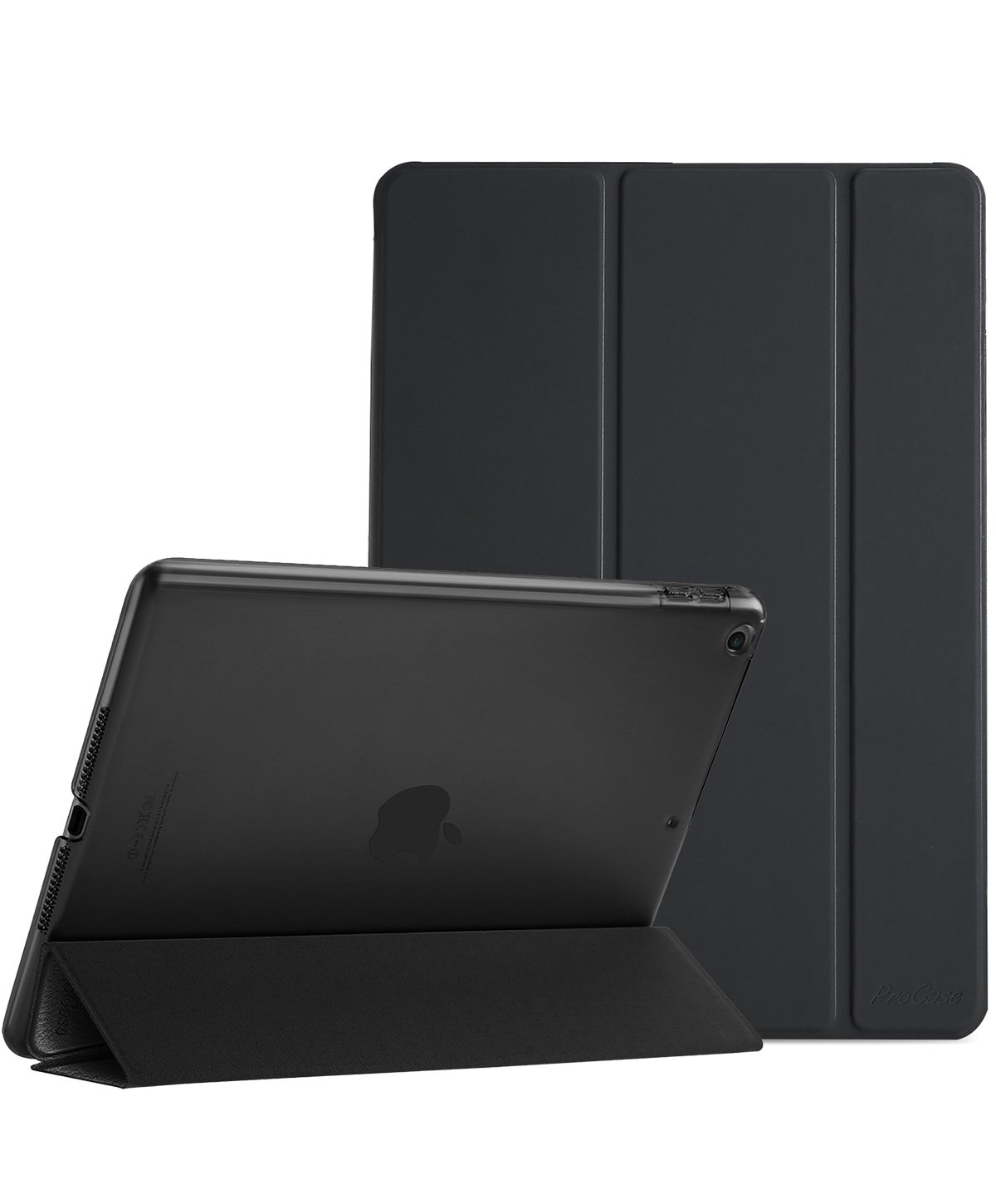 애플 아이패드 6세대 97인치 ProCase 경량 반투명 스마트 커버 - 15 컬러 ProCase iPad 97 Case - Ultra Slim Lightweight Stand Case with Translucent Frosted Back Smart Cover