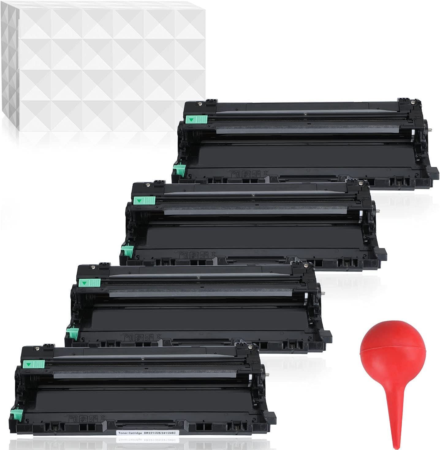 YOUTOP DR223CL DR223 Remanufactured Drum Unit DR-223 Replacement for Brother MFC-L3770CDW MFC-L3750CDW HL-L3230CDW HL-L3290CDW HL-L3210CW MFC-L3710CW Printer, 4 Pack (Black, Cyan, Magenta, Yellow)
