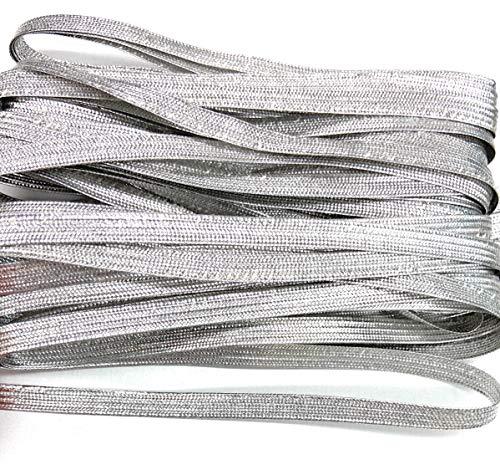 x 10mm Strung Metallic Flat Sequins 92m CERISE 100yds