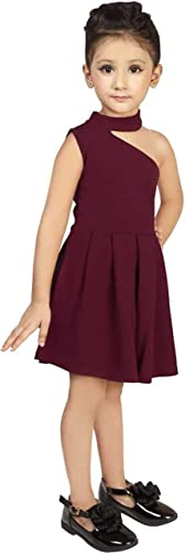 e ethnic store Girl s Fit and Flare Knee Length Dress New 4 5 Years