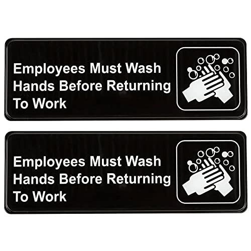 Black Home & Garden Mini Hand Wash Decal Other Home Cleaning Supplies