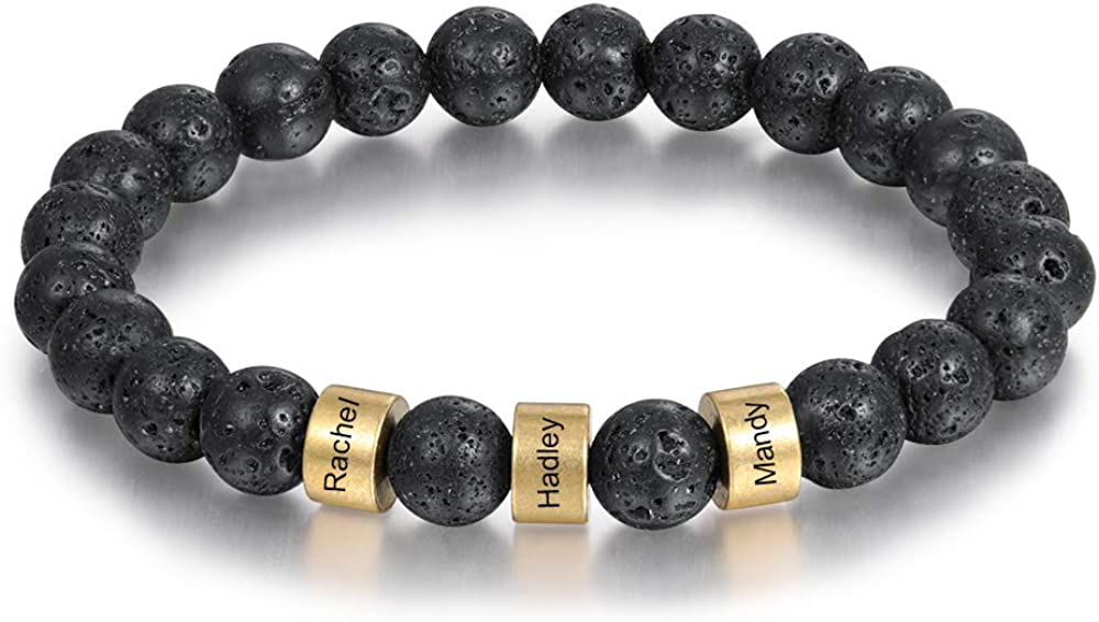 Lam Hub Fong Personalized Beads for Detroit Mall Direct sale of manufacturer Bracelets Women Stone Chakra