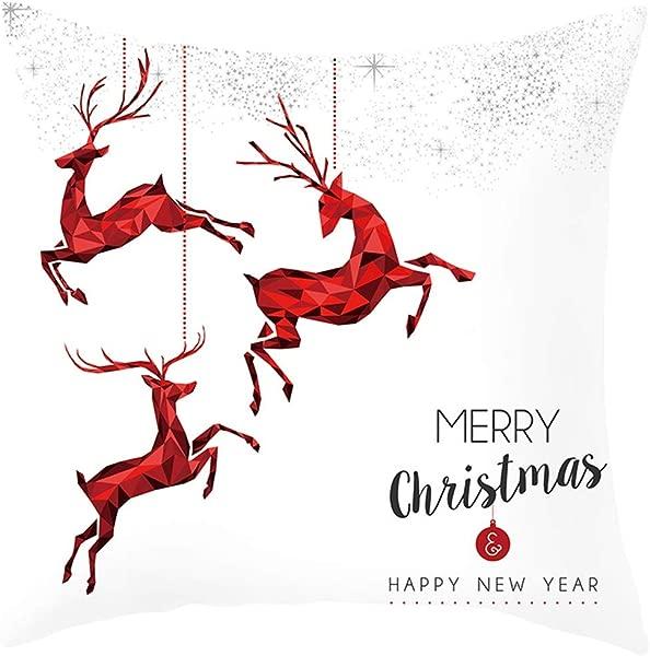 Tigivemen Throw Cushion Cover Home Decor Home Decor Cushion Cover Christmas Throw Pillowcase Pillow Covers