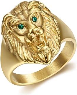 meilleur site web ad121 21d87 Amazon.fr : chevaliere lion : Bijoux