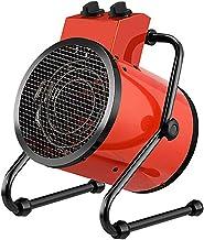 WILK Calentador De Ventilador Eléctrico Industrial Portátil Calentador De Aire De 3000 Vatios con Termostato Silencioso Impermeable 3 Velocidades para El Hogar Invernadero Taller