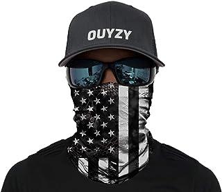 OUYZY Face Scarf Cover Mask Reusable - Sun Bandanas for Fishing Motorcycling Running