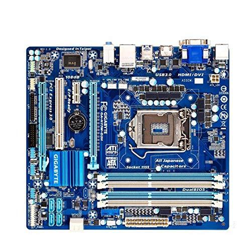 Gigabyte GA-H77M-D3H 100% Original Motherboard LGA 1155 DDR3 USB3.0 32G Desktop Mainboard SATA3 H77M-D3H für Intel H77 H77M D3H