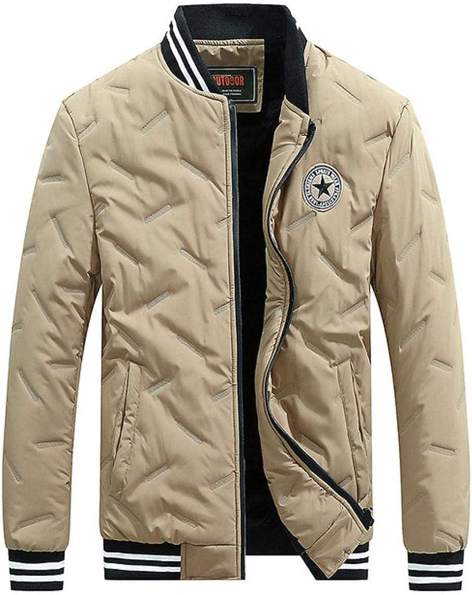 Winter Jacket Men Parkas Fleece Windbreaker Military Coat Fitness