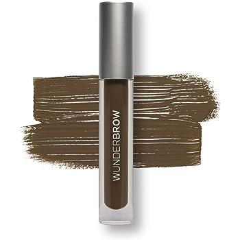 WUNDER2 WUNDERBROW Waterproof Eyebrow Gel for Long Lasting Makeup, Black/Brown