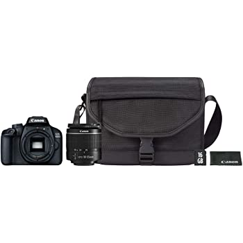 Canon Kit EOS 4000D CÁMARA Reflex 18MP Full HD DIGIC4+ WiFi + ...