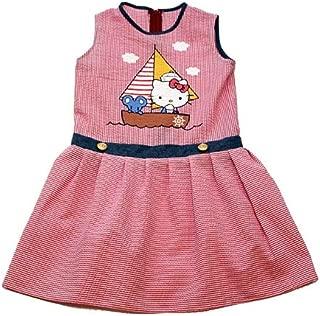 Hello Kitty Vacation Seersucker Dress