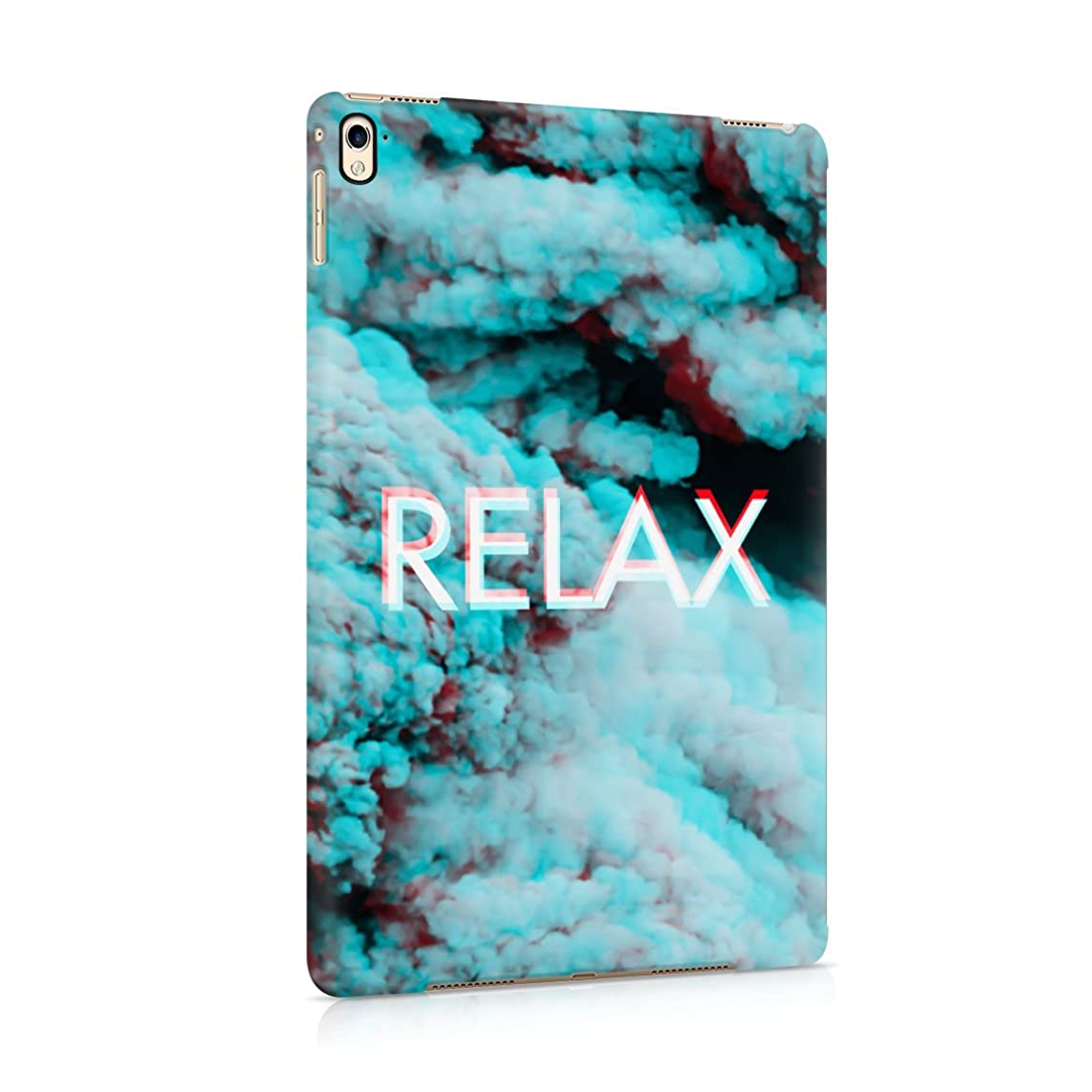 Trippy Blue Smoke Relax Plastic Tablet Snap On Back Cover Shell For iPad Pro 9.7