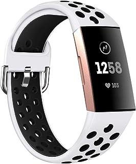 Gransho Correa de Reloj Reemplazo Compatible con Fitbit Charge 4 / Charge 4 SE/Charge 3 SE/Charge 3, la Correa de Reloj Wa...