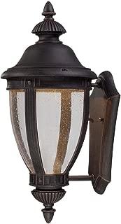 Minka Lavery 72412-51A-L Wynterfield 1 Light LED Wall Bracket, Burnt Rust