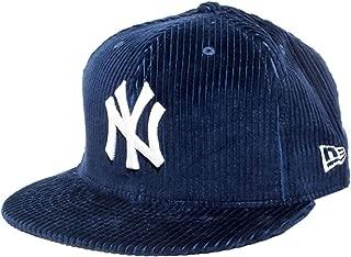 (ニューエラ) NEW ERA キャップ 59FIFTY コーデュロイ ニューヨーク・ヤンキース NY ネイビー 7 3/8 (58.7cm)
