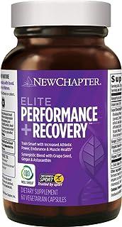 New Chapter 训练前、训练中和训练后补充剂 - 精英表现+竞技训练恢复 - 60粒素食胶囊