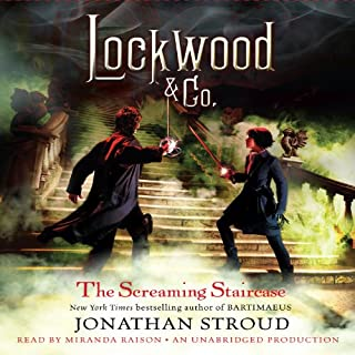 Lockwood & Co.: The Screaming Staircase, Book 1 cover art